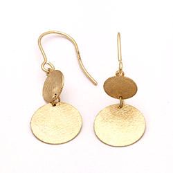 9 karat øreringe i guld